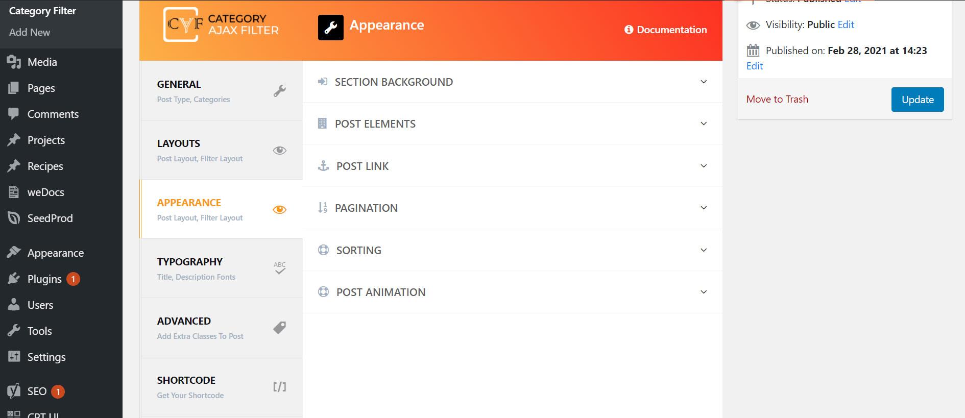 appearance-tab-screen