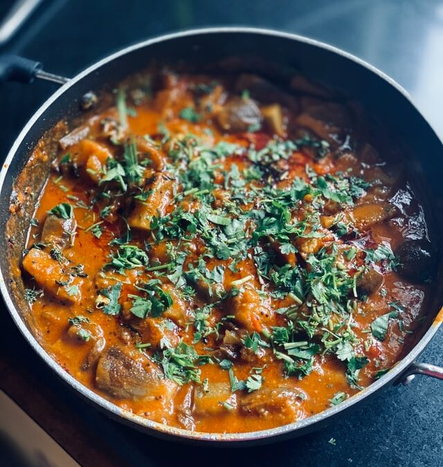 Red Curry with Coriander